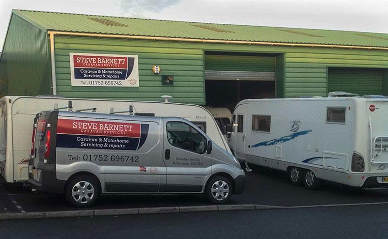 Contact Steve Barnett Caravan Services