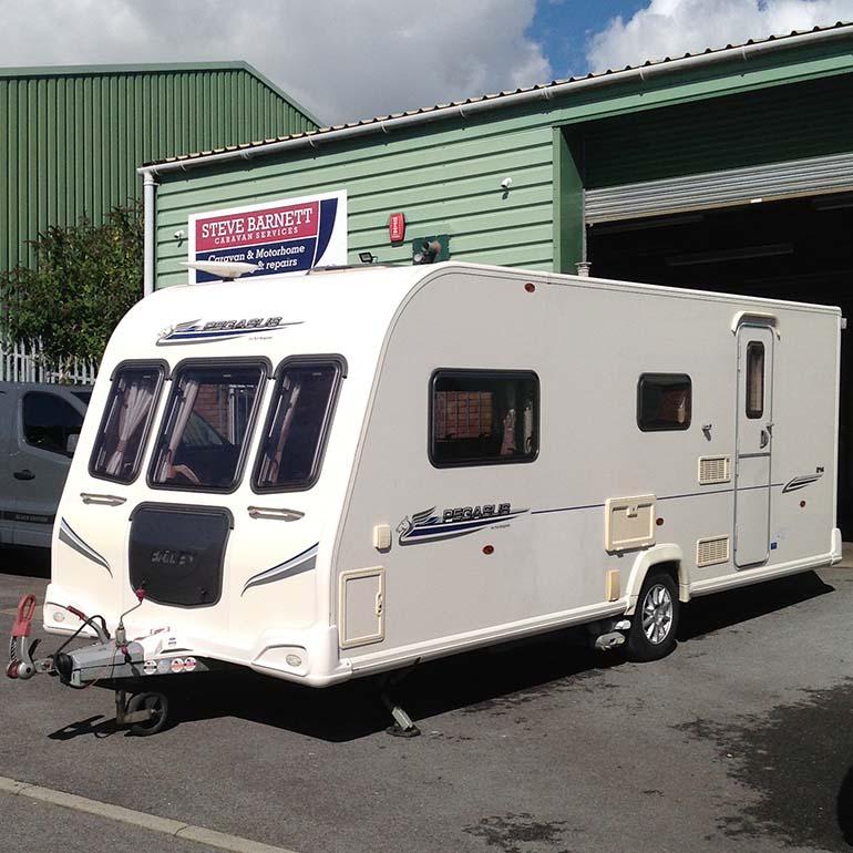 Sterling Eccles Topaz caravan sold